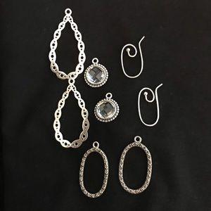 Authentic Pandora Interchangeable Earrings